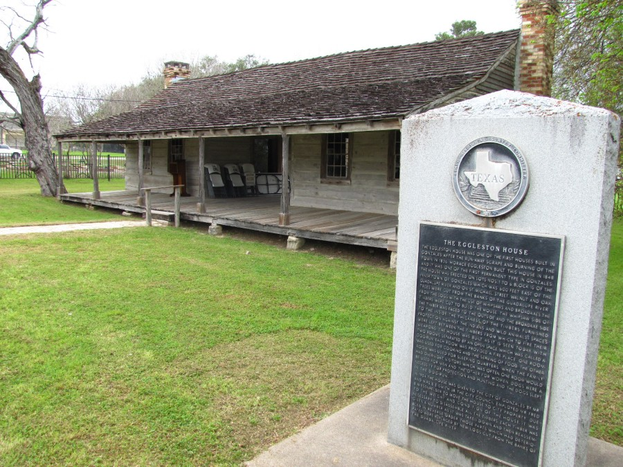 Eggleston House, Gonzales, March 2012 005